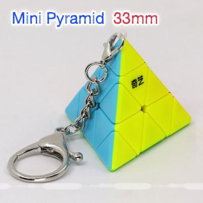 Qiyi Keychains Mini Pyramid 33mm   Rubik kocka