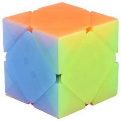 QiYi cube transparent Jelly colour series of SkewB | Rubik kocka