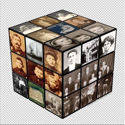 Fényképes kocka | Rubik kocka
