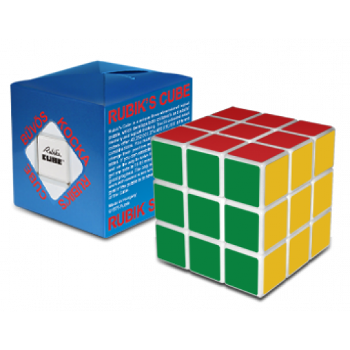 Eredeti Rubik kocka 3x3 fehér | Rubik kocka