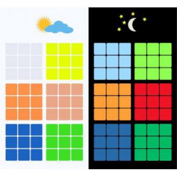 Prémium világítós matrica 3x3x3