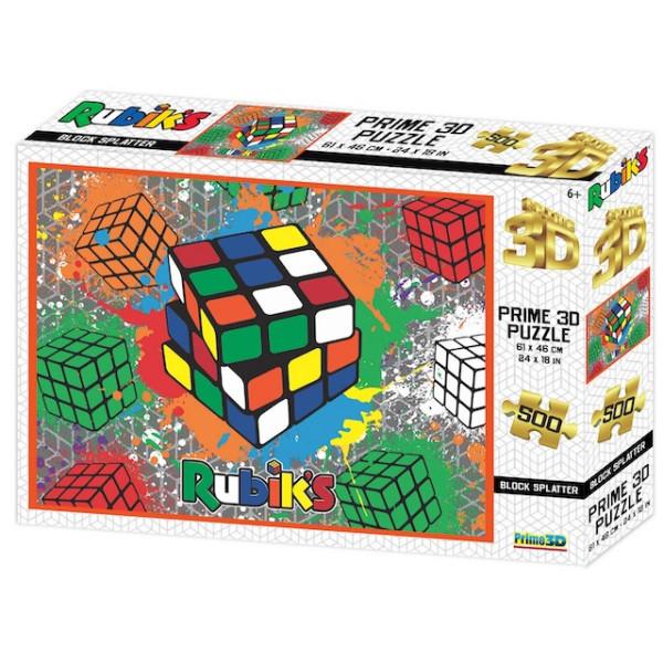 Rubik kocka 3D puzzle, 500 darabos | Rubik kocka