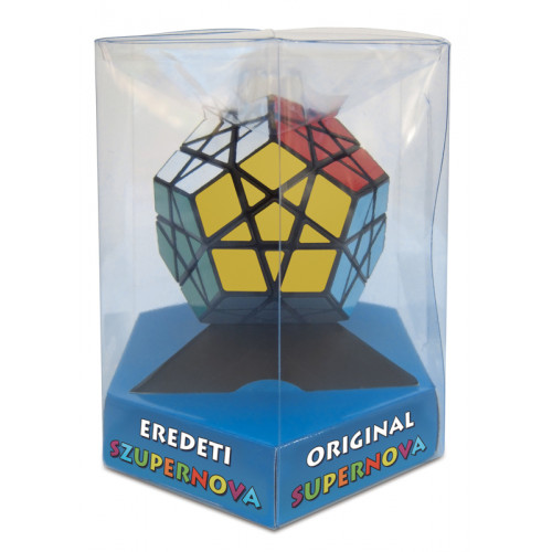 Rubik Megaminx - fekete