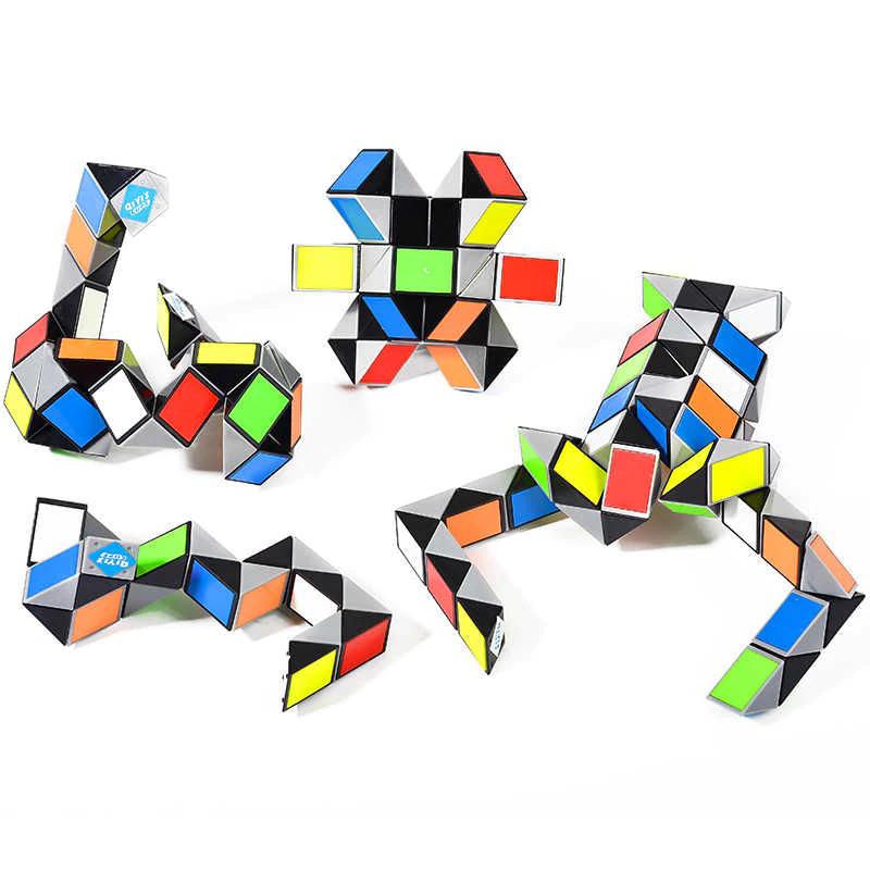 színes Rubik kígyó