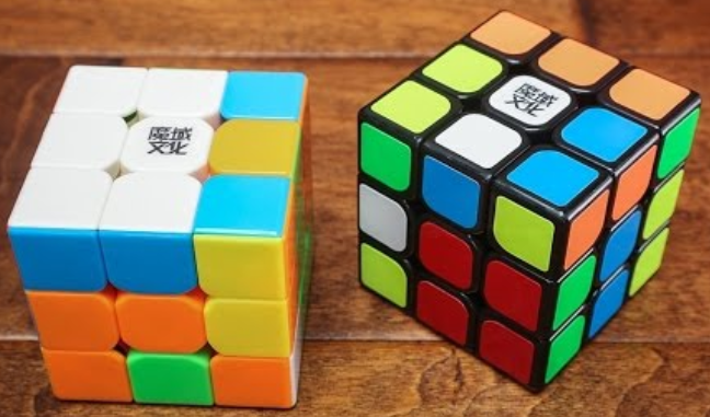 Stickerless Rubik Kocka